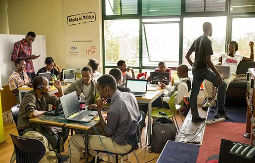 Afriška tehnološka generacija