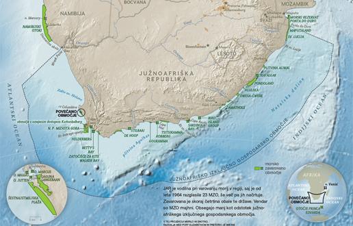 JAR coast map