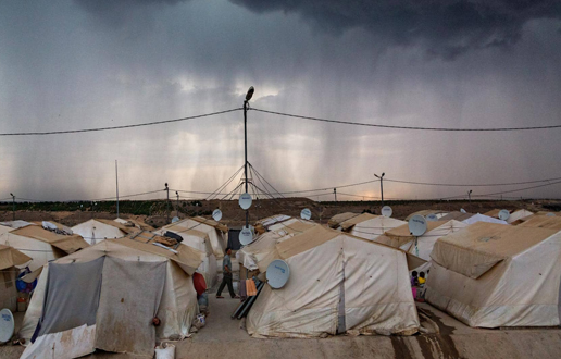 Na poti z begunci