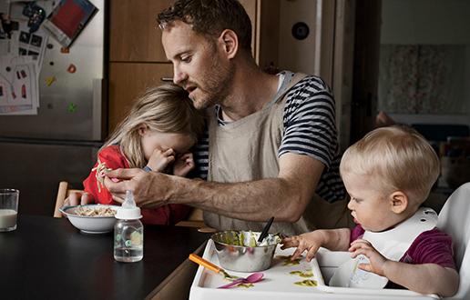 Starševski dopust po meri očetov
