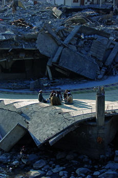 Napovedovanje potresov